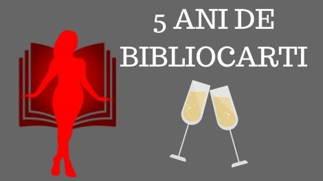 5 ANI DE BIBLIOCARTI